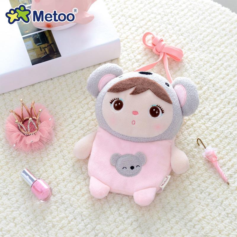 Bolso de la moneda 18cm koala Crossbody del monedero metoo rellenos de la muñeca juguetes de peluche Animales para niños Juguetes para niños de las muchachas Niños bebés felpa juguetes suaves