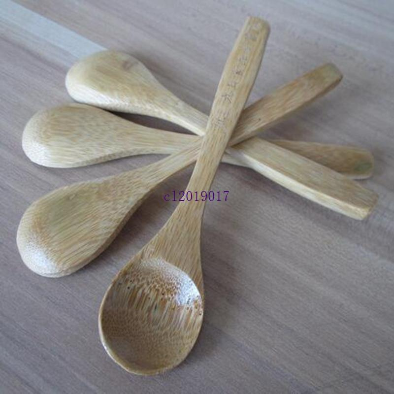 13см качества еды лак мед бамбука ложка на заказ ЛОГОС # 113