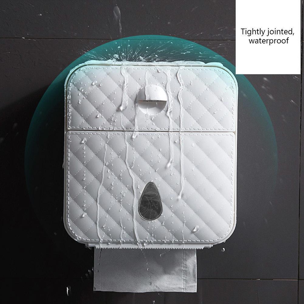 주방 욕실 화장실 롤 홀더 종이 케이스 스토리지 박스 광고 소재 화장지 홀더 방수 종이 타월 홀더