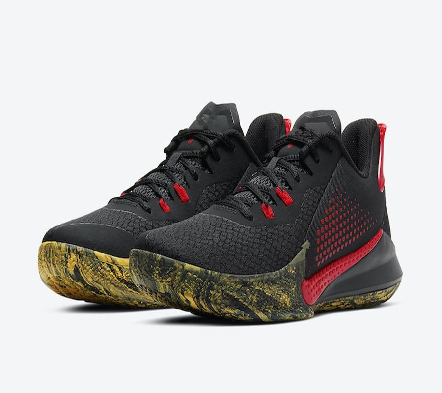جديد مامبا الغضب EP بروس لي أسود أحمر كرة السلة أحذية للبيع مع مربع 2020 مامبا الغضب الأحذية الرياضية بالجملة US7-US12