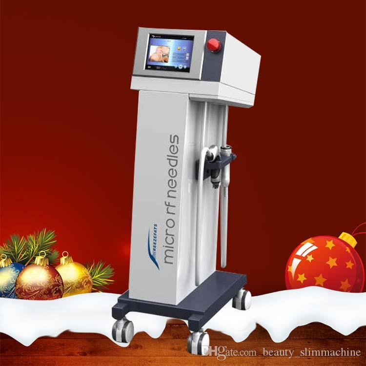 New Microneedle máquina de rf fracionada Micro agulha pele aperto Anti-rugas cicatriz remoção máquina thermage MRF SRF alça de resfriamento CE