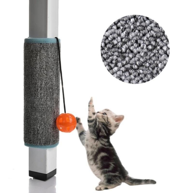 Grattarsi Consiglio Pad Mat Cat Sisal Loop Carpet Scratcher mobilia domestica Tabella poltrona Gambe Protector per gatti