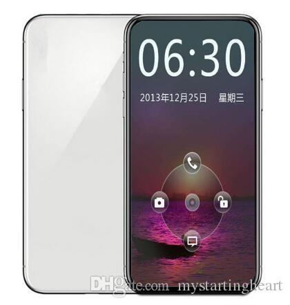 Goophone (11) 프로 맥스 6.5 인치 3G 전화 안드로이드 8.0 리얼 2기가바이트 RAM 16 기가 바이트 ROM 1520 * 720 HD 1300 만 화소 듀얼 심 스마트 폰 밀봉 녹색 태그