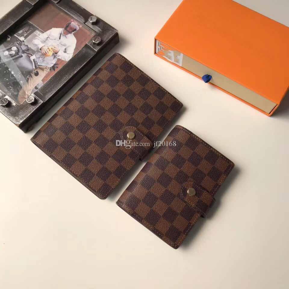 333 جدول أعمال صغير جديد يغطي المصمم Womens mens Notebook Credit with box