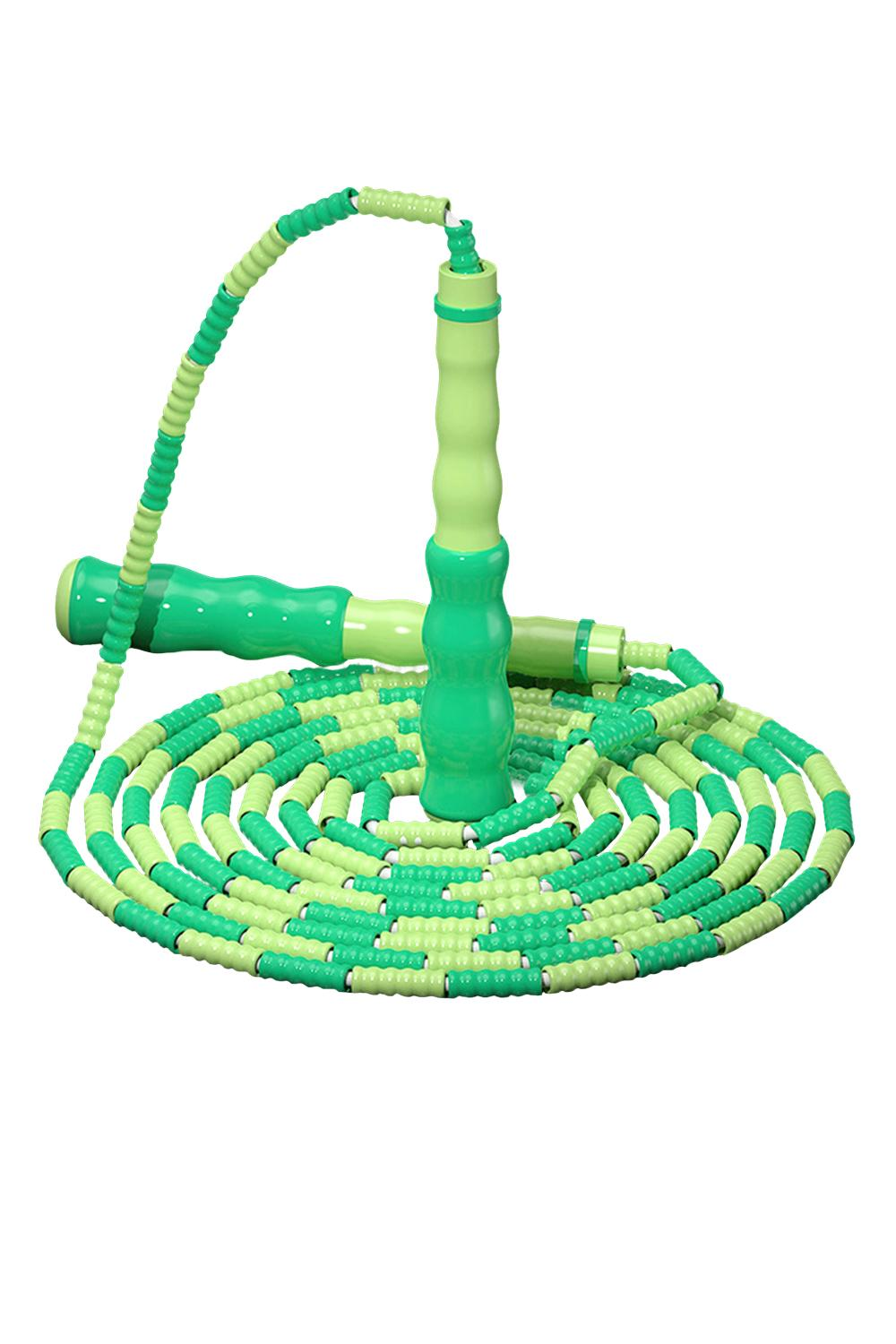 DHL SHIP -Bamboo Festival Pattern Jump Rope For Loss Weight and Fitness Exercise For Children and Adult Bead Rope Skipping Rope FY7058