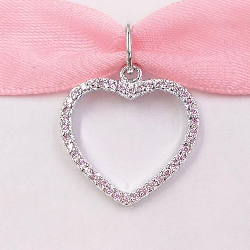 Autentico 925 Perline argento fascini Adatto monili europei di stile Pandora collana dei braccialetti 216