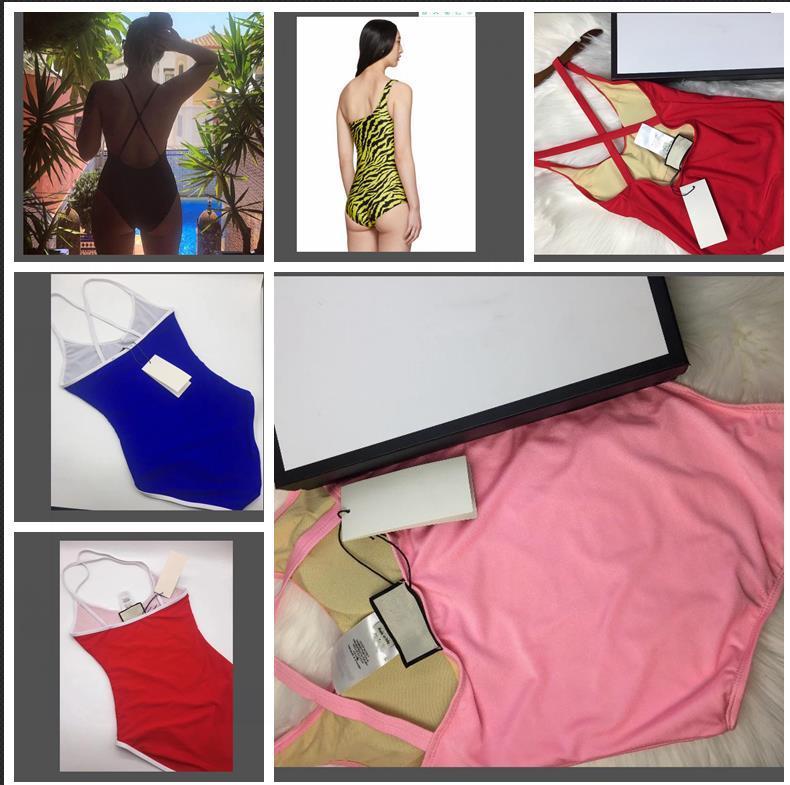 Tasarımcı Lady Seksi Bikini Moda Marka mayolar Tasarımcı Mayo Kadınlar One Piece Yıkanma Suits parça bikini Kız Plaj Sexi En Yüksek Kalite