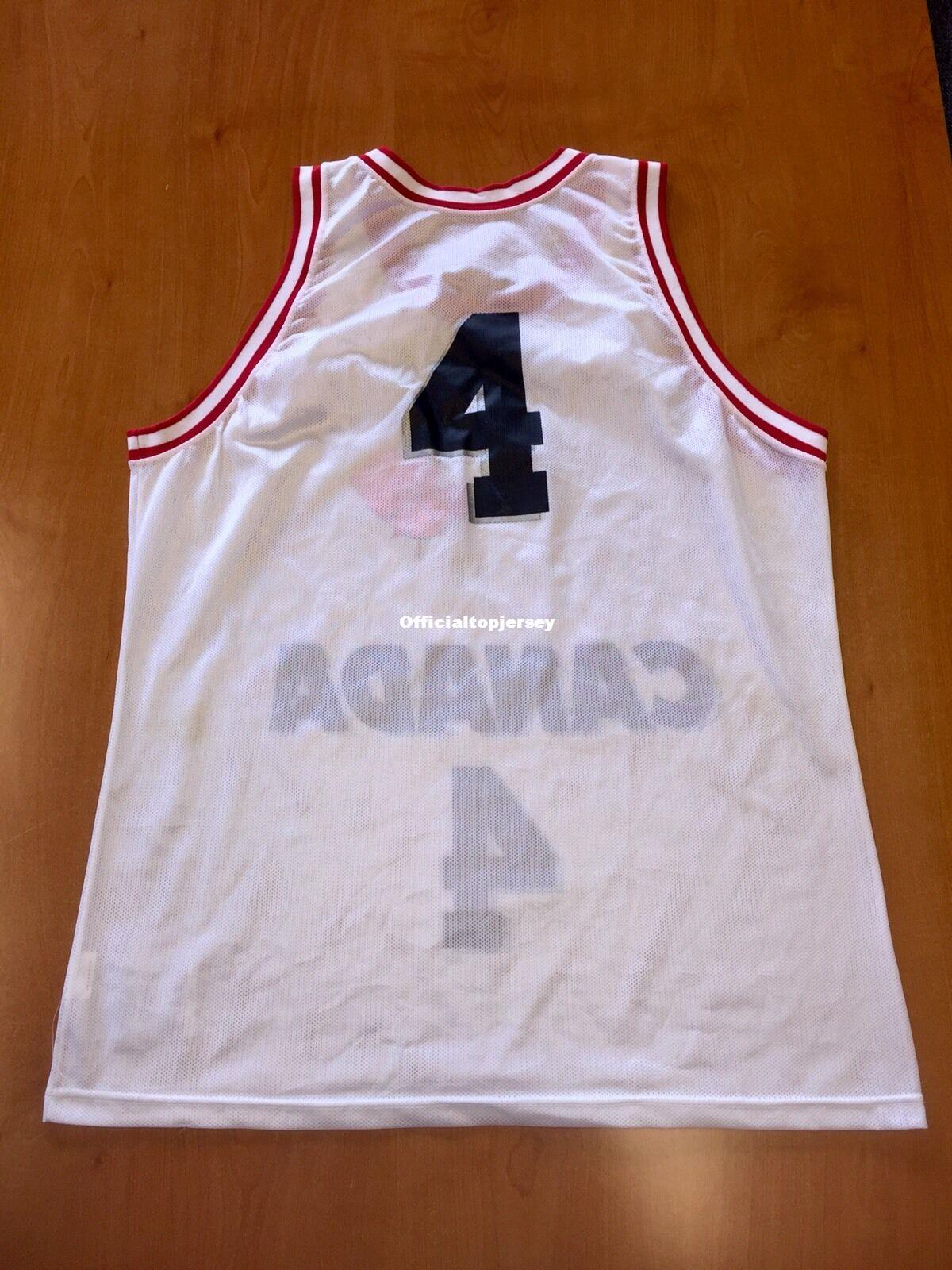 Cheap Vintage 1994 Rick Fox #4 Canada Champion Jersey fiba nash Men XS-5XL.6XL shirt stitched basketball jerseys Retro NCAA