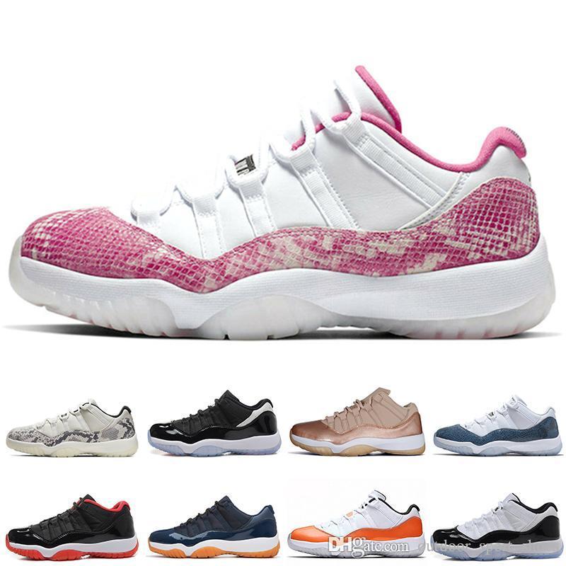 Top Quality 11s mayorista Universo Sneakerskin Hombre Basketball Zapatos 11 infrarroja de baja 23 Trance para hombre de las zapatillas de deporte de Orange diseñador de las mujeres Deportes