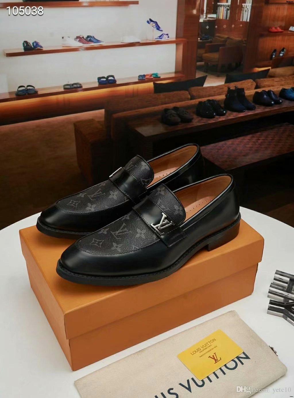 2019 makosenler ayakkabılar erkekler püskül parti ayakkabı erkekler oxfordlar erkekler düğün ayakkabı lüks gece elbisesi scarpe uomo classiche Sepatu kantor