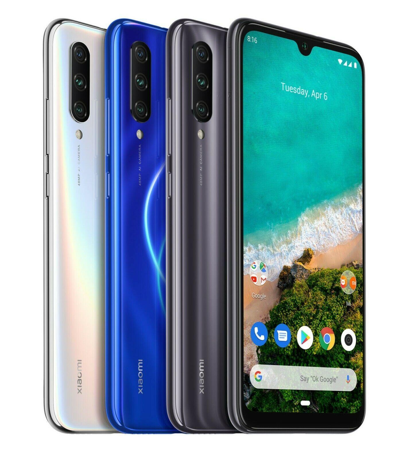 """Xiaomi Mi A3 4GB 64GB Celulares Versão Global 6.088 """"4G Celular Qualcomm Snapdragon 665 6.088"""" 48MP AI Câmera Tripla 4030mAh"""