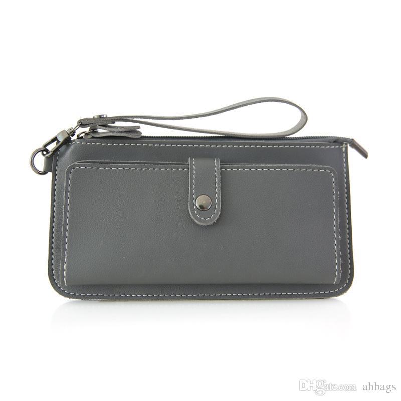 Student Wallet Mini Wallet Lovely pocket purse Student Short Handbags Pocket change handbag New genuine leather bag