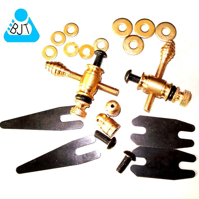 Tätowiermaschine Messing-Kontaktbinder Bindepfosten hinten Bindepfosten Tattoo-Teile-Zubehör-Set Tattoo-Coils-Zubehör