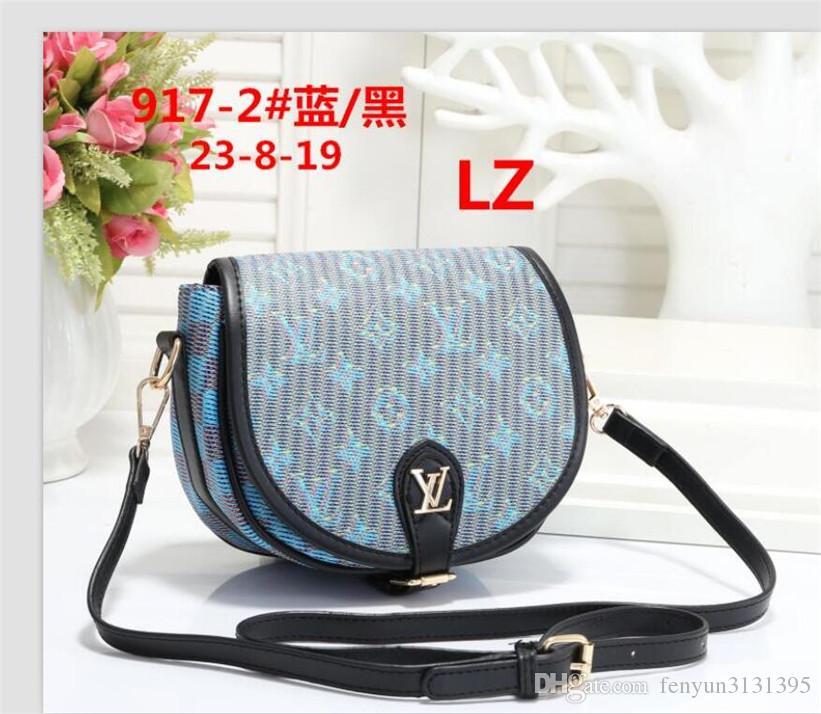 2020 высокое качество классический стиль моды женская сумочка кошелек искусственная кожа L цветок плечо crossbody сумка женские кошельки A12