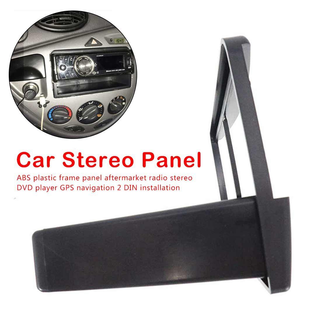 Fiesta Radio Stereo Black Fascia Adapter Plate Surround