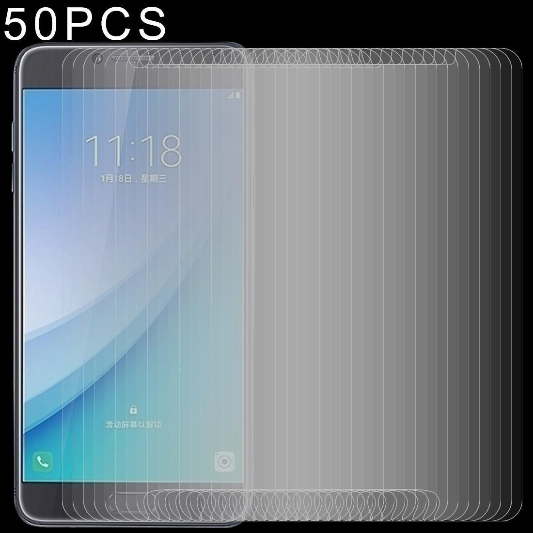 50 PCS de 9H 2.5D Film Verre trempé pour les Galaxy Pro C7