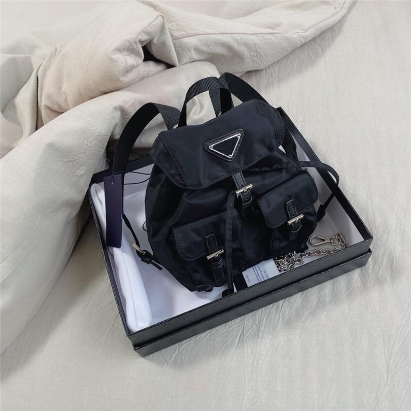 Zaino a tracolla a spalla a tracolla Mini Dimensione Backpacks School Bag Nylon Mini Fashion CFY2005054