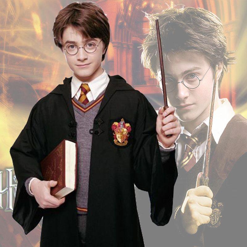 Cape Harry Potter Robe Cape Cosplay Costume Enfants Adultes Robe Harry Potter Cape Gryffondor Serpentard Ravenclaw Robe Poufsouffle Cape