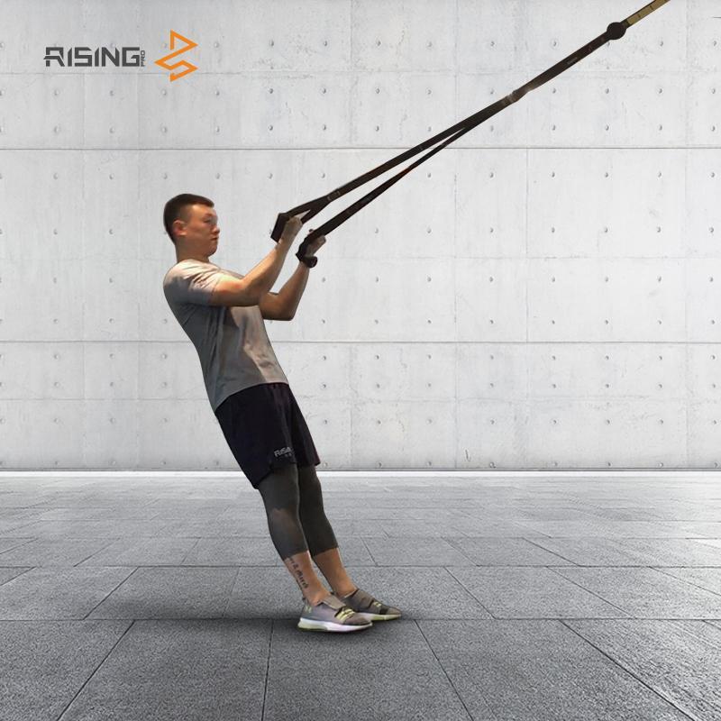 Bandes de résistance CrossFit Équipement Force Hanging formation Sangle Fitness exerciseur Suspension d'entraînement Entraîneur Ceinture Y200506