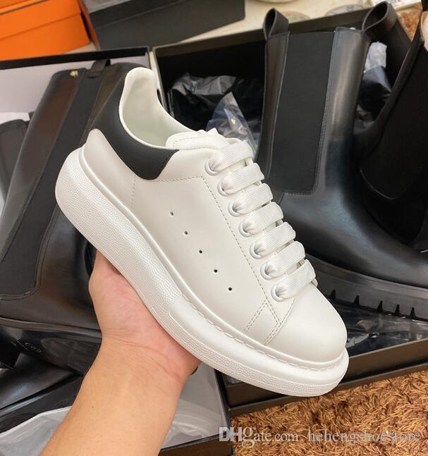 Designer De Luxe chaussures Hommes Femmes Casual Fitness Chaussures Chaussures De Mode Blanc En Cuir Confortable Chaussures Plat loisirs Sneaker