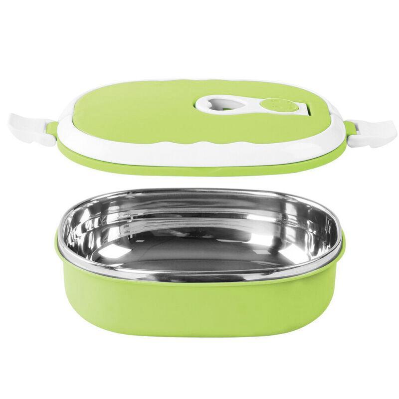 1 Tier Edelstahl Thermal Insulated School Lunch Box Bento Lebensmittel enthalten Hot