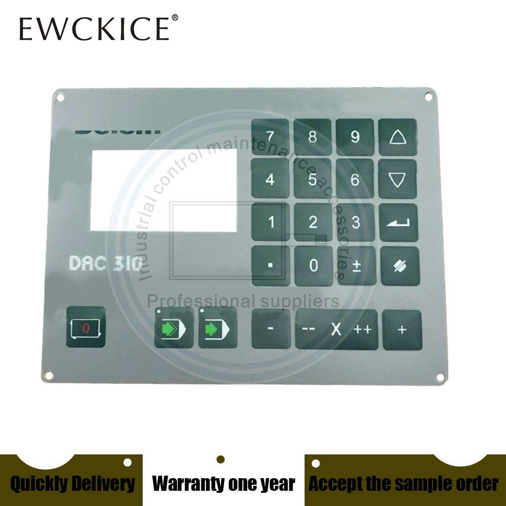 Orijinal Yeni DAC-310 DAC310 DAC 310 PLC HMI Endüstriyel Membrane Anahtarı Tuş Takımı Endüstriyel Parçalar