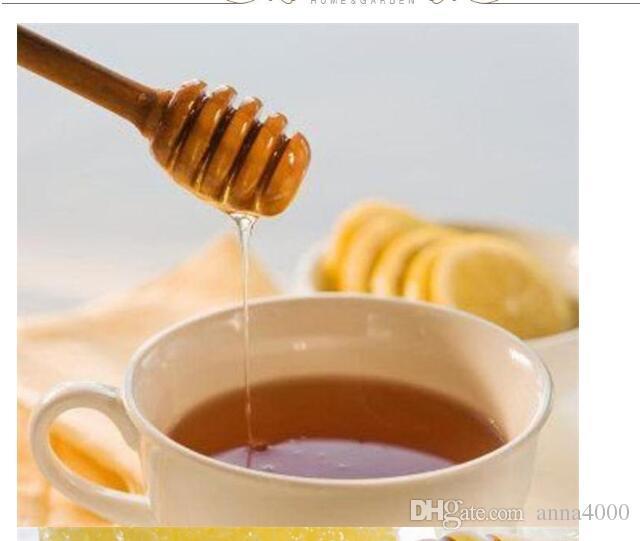 8cm 10cm 15cm Pratica Mini manico in legno Miele Cucchiaio Mixer Stick Dipper Per Honey Jar Forniture Utensili da cucina