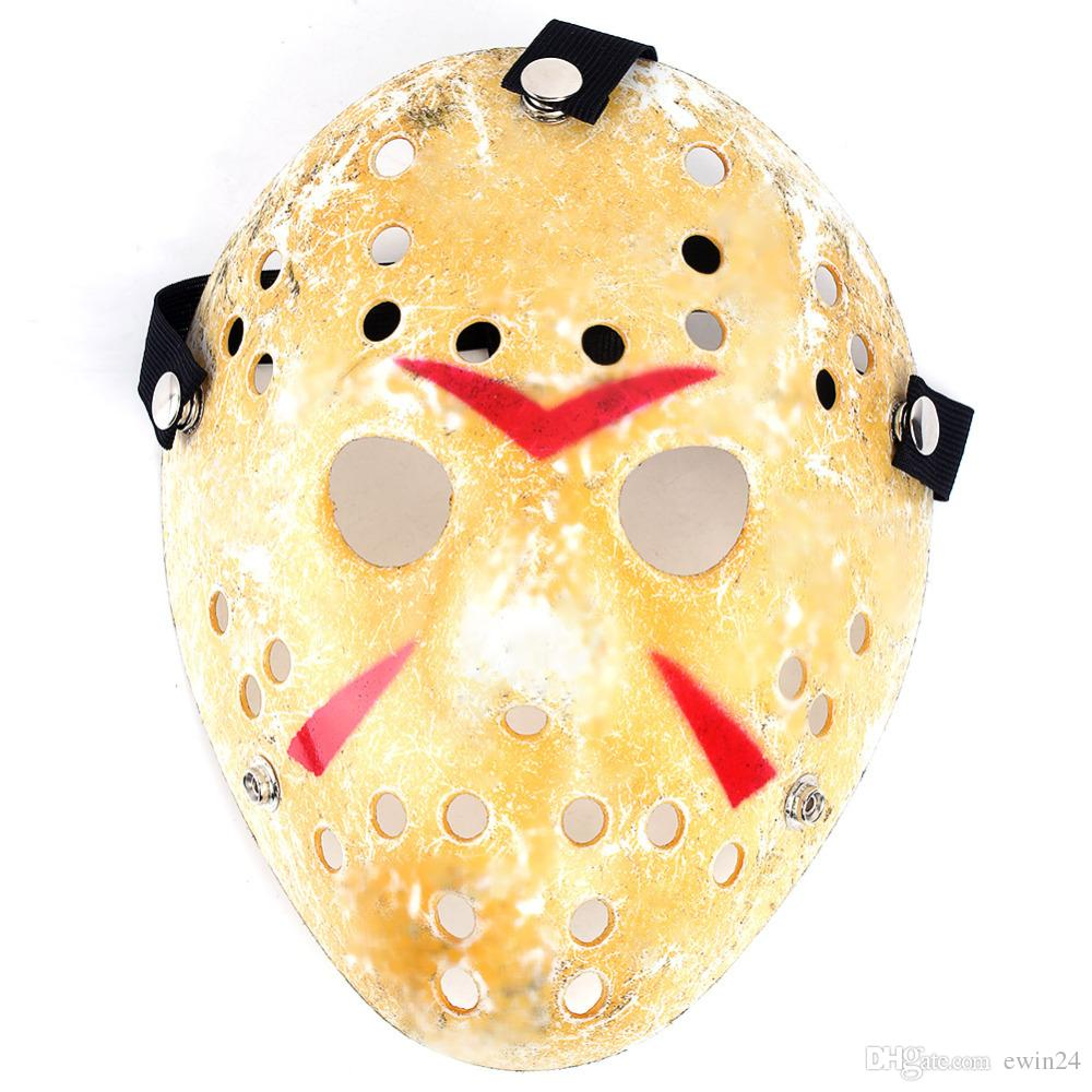 Урожай Джейсон Voorhees Фредди Хоккейный Фестиваль Halloween Masquerade Party Mask Смешной Prop Horror Маска Рождество Cosplay партия