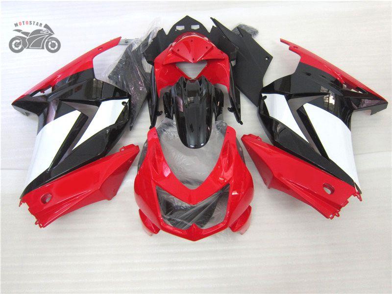 Free kundenspezifisches Fairings Kit für Kawasaki 250R 2008 2009 2010 2011 2012 EX250 08-14 Körper mit 7 Geschenke Verkleidung gesetzt