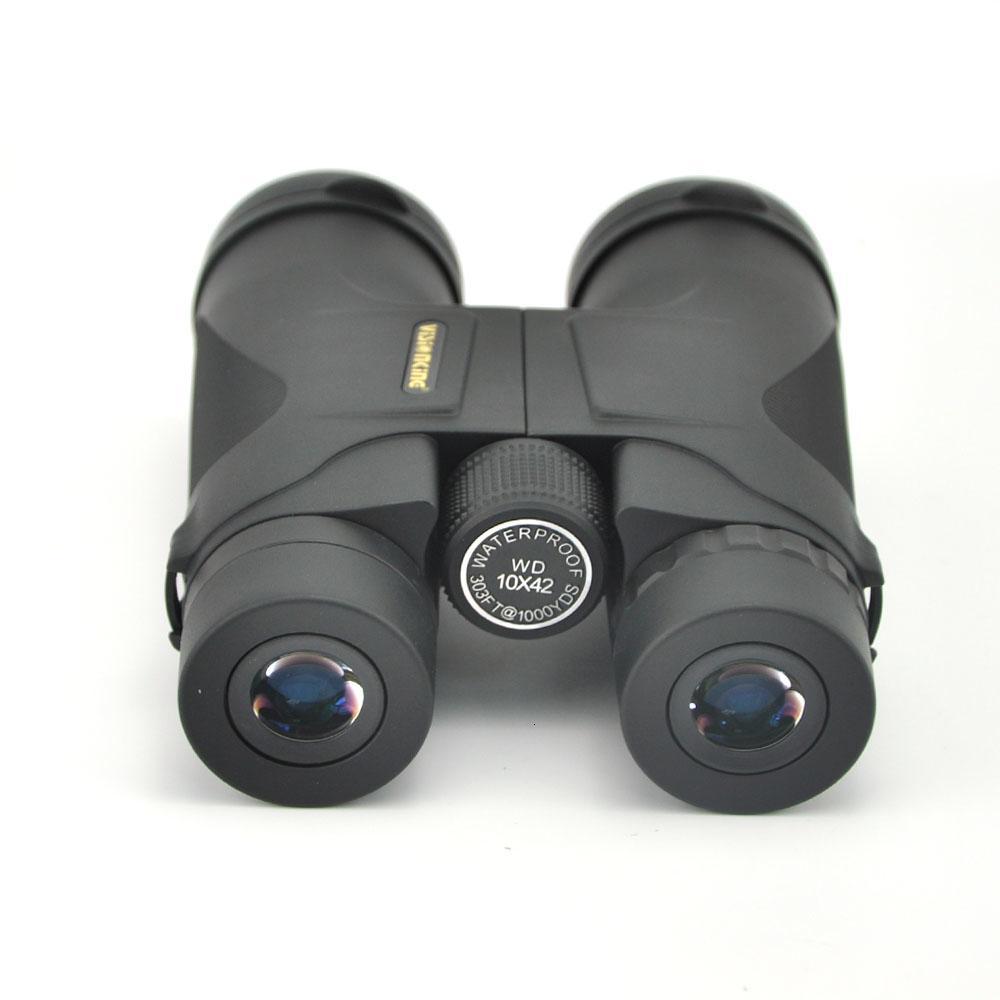 Visionking di alta qualità 10x42 Caccia Binocolo impermeabile Telescopio Verde e nero Binocolo PRISMATICOS De Caza Binocolo T191014