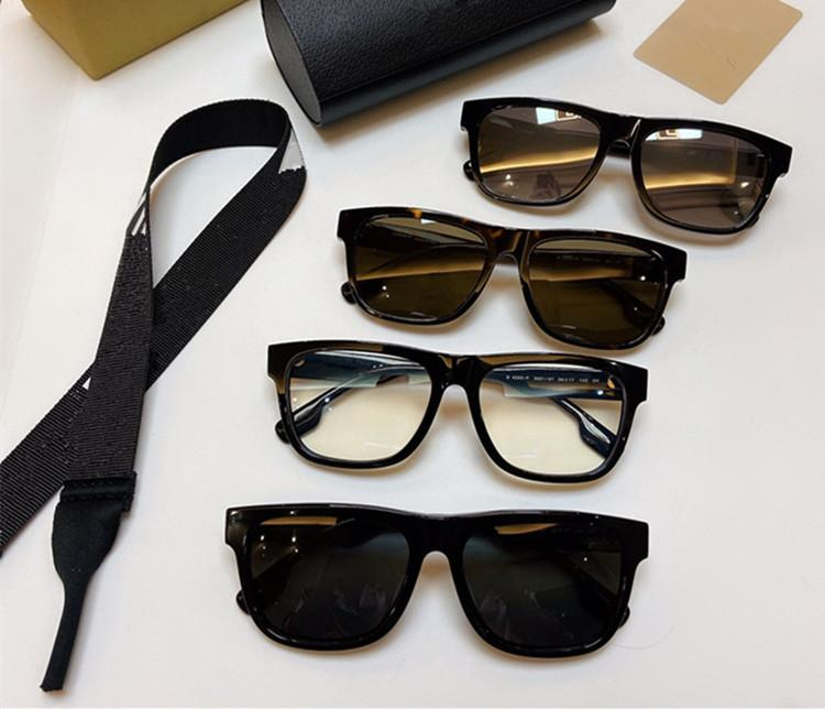 En Yeni BE4293-F Men Sportif Dize SunglassesOptical Çerçeve UV400 56-17-145 Moda Avrupa-am tasarlanan fullset vaka
