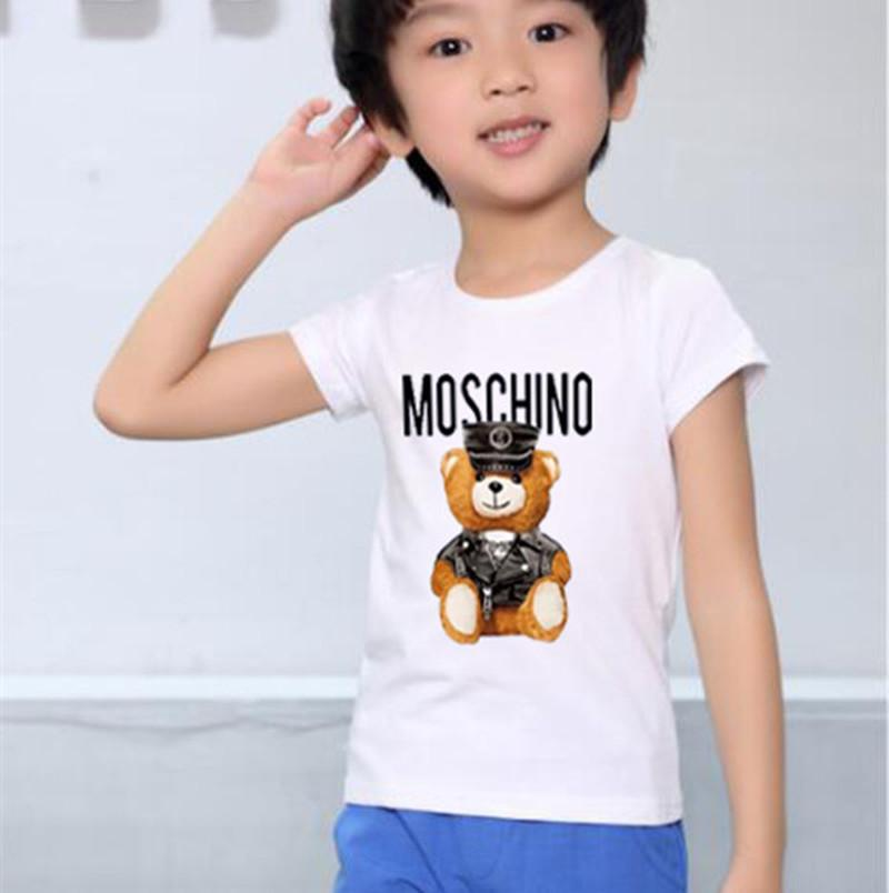 2020 fashion New Designer Brand 1-9 Years Old Baby Boys Girls T-shirts Summer Shirt Tops Children Tees Kids Clothing BMVGJ66