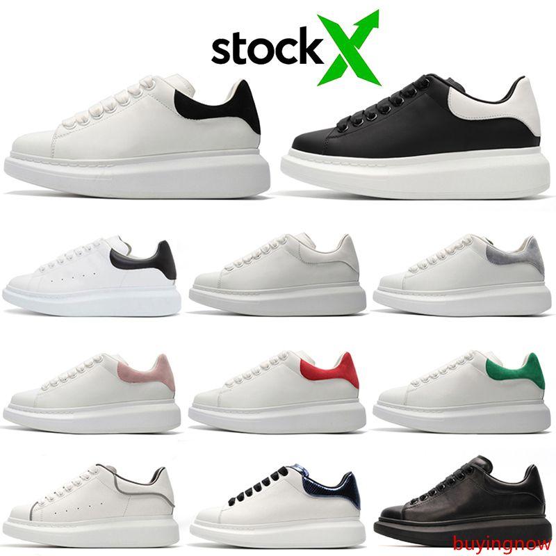 stock x 2020 designer Chaussures Hommes Femmes Chaussures Triple Blanc Noir 3 M Réfléchissant En Cuir Daim Hommes Plat Casual Sneakers 36-44 vintage