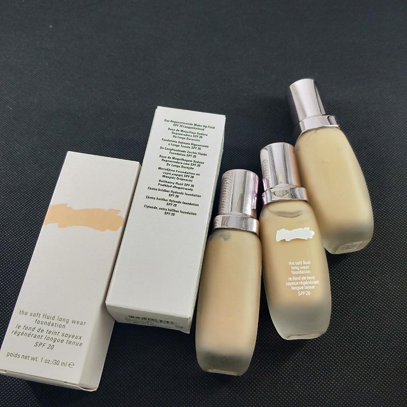 Berühmte Marke Make-up weichen flüssige Grundlage der weiche Flüssigkeit lange Abnutzung Grundlage 30ml Dropshopping vs DW flüssige Foundation freies Verschiffen
