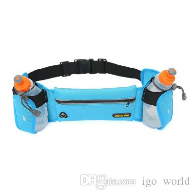 Hiking Bag Waist Pack Fanny Pack Outdoor Sports Backpack Walking with Water Bottle Handle for men & women