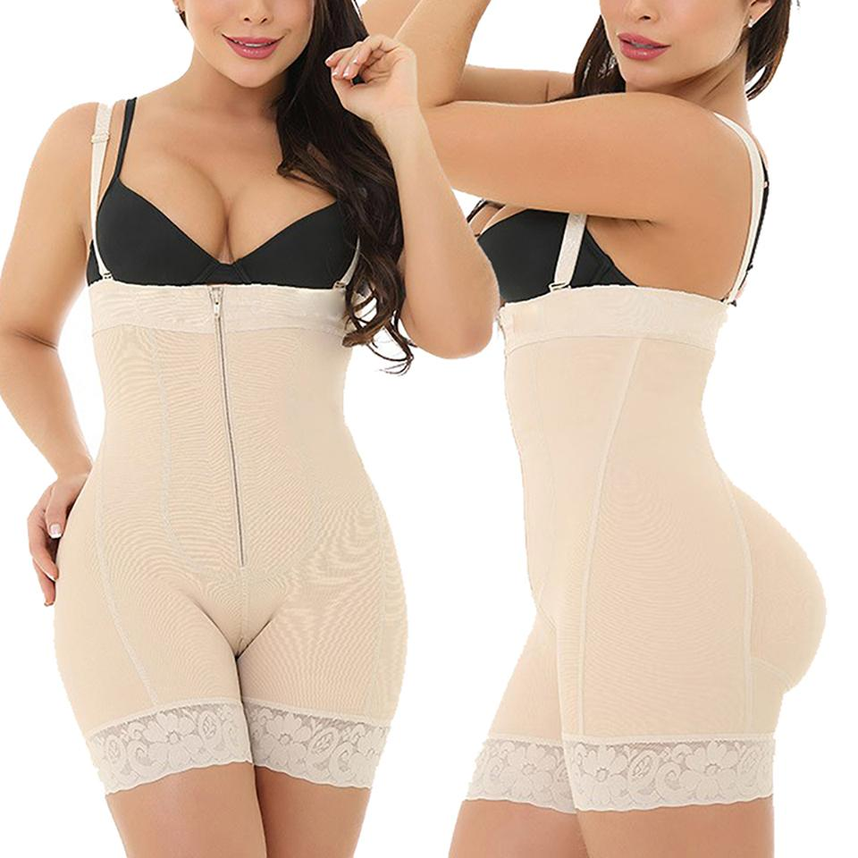2021 Women Slimming Bodysuit Plus Size Shaper Shapwear Quality Body Shaper Zipper Underwear Open Crotch From Happyshopper5320 29 45 Dhgate Com