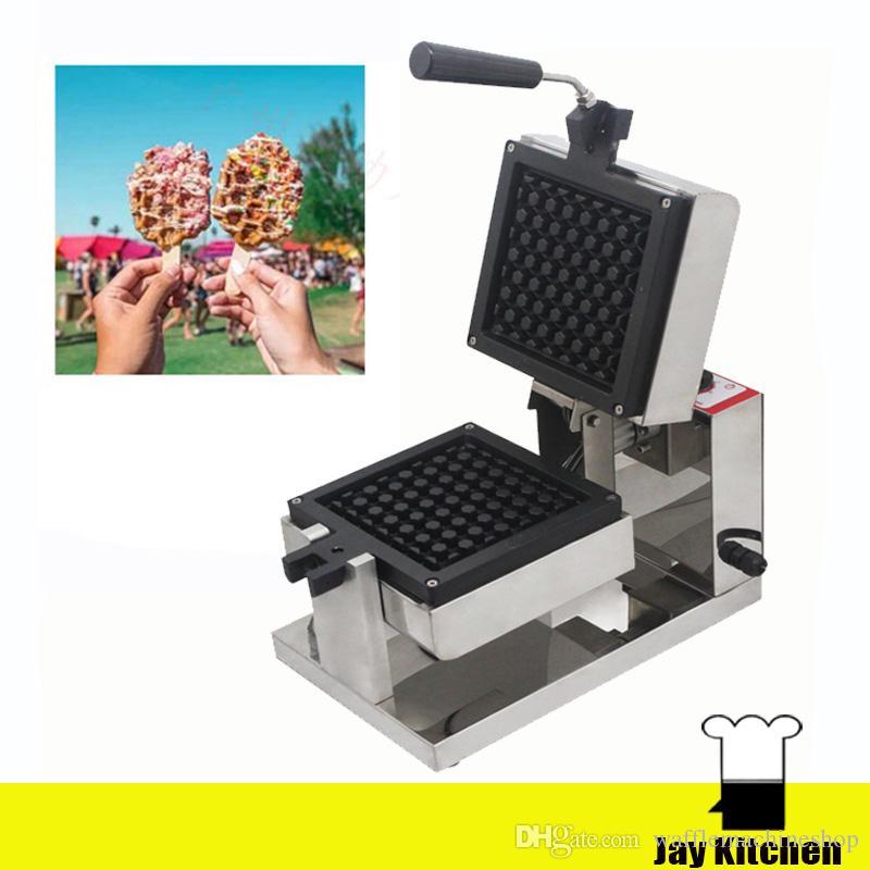 Yeni Popüler Petek Şekilli Waffle Makinesi Elektrikli Moda Döner Waffle Yapma Makinesi Ticari Küçük Snack Makinesi