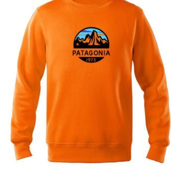 Manera- Patagonia otoño sudaderas con capucha de lana Spring Mountain letras impresas con capucha