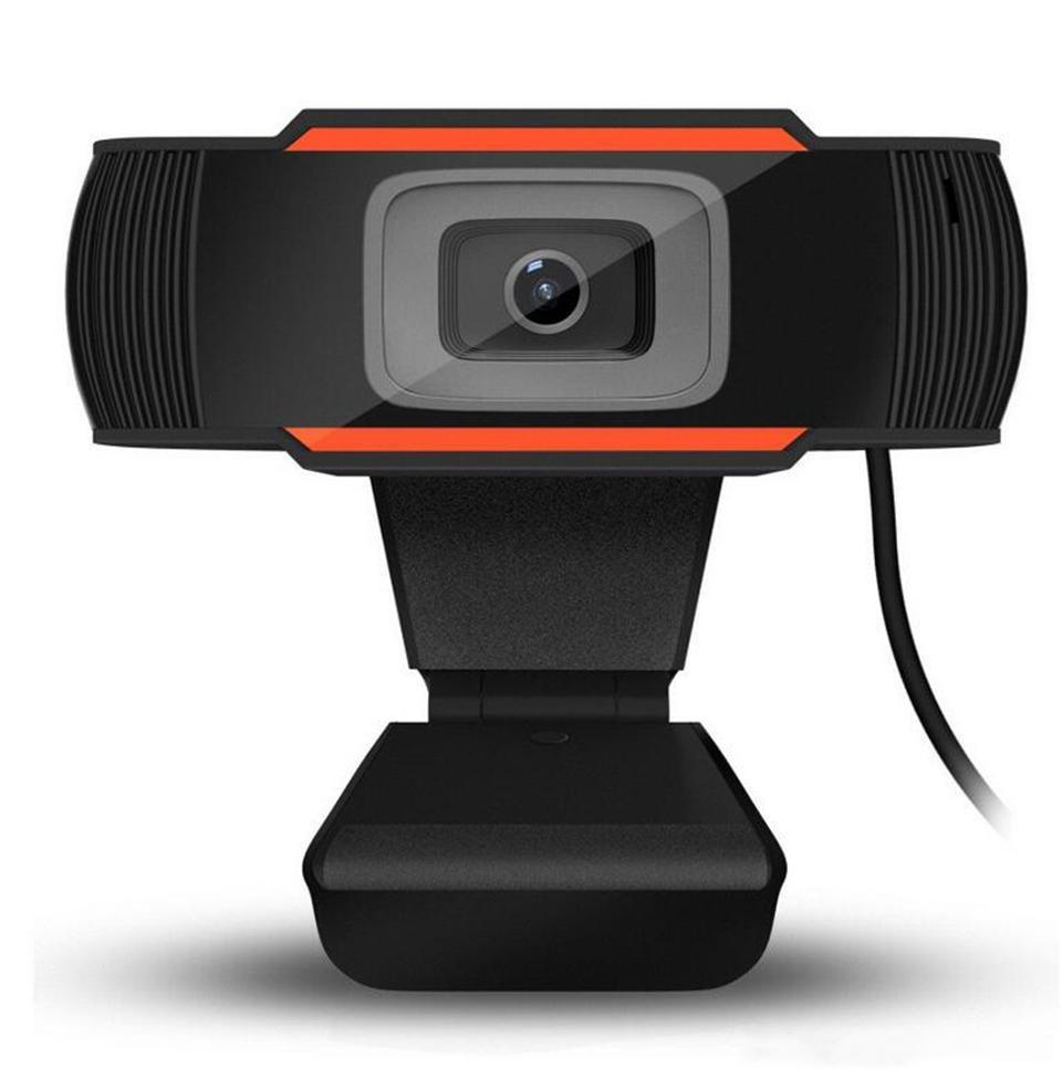 Os mais recentes 12.0MP USB 2.0 Camera Web Cam 360 Degree MIC Clip-on Webcam para Desktops Laptop Skype computador PC