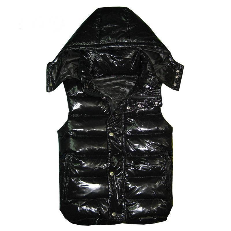 조끼 클래식 깃털 weskit 재킷 아래 새로운 디자이너 남성과 여성 겨울 캐주얼 조끼 코트 여자