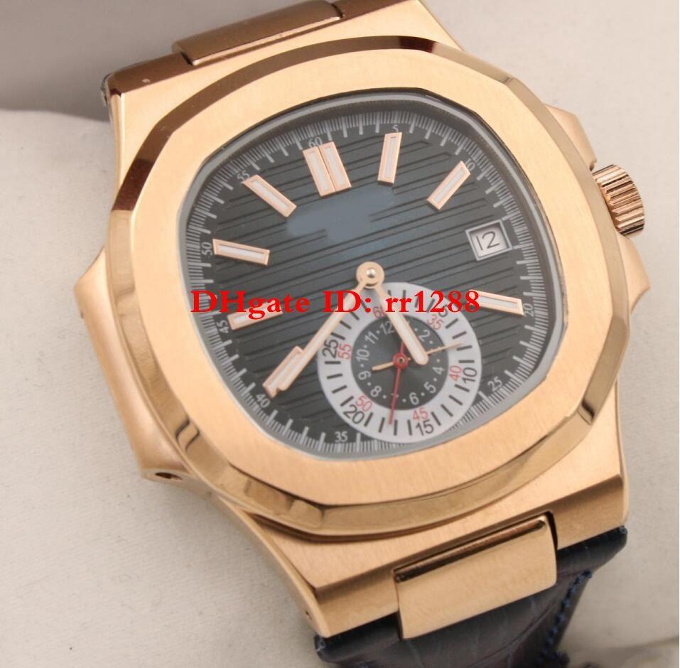 8 Цвет роскошные часы новый Nautilus 5980/1A-001 5726/1A-001 5711/1R-001Automatic мужские часы