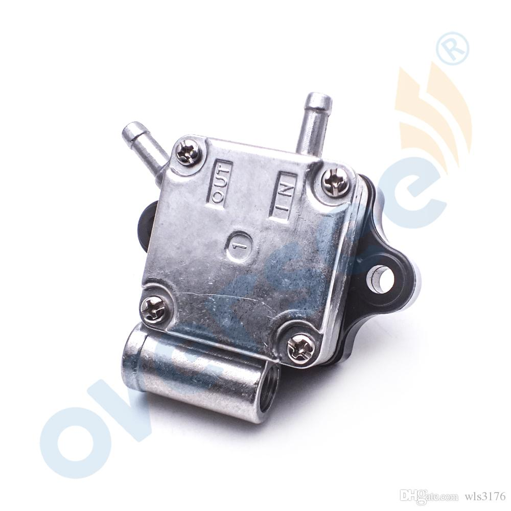 OVERSEE Fuel Pump ASSY 6AH-24410-00 for Yamaha F20B Four Stroke Outboard Spare Engine Parts Model