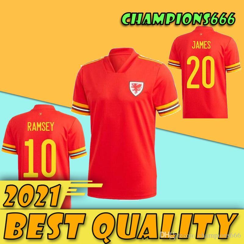 2020 2021 maillot de football du Pays de Galles 20 21 BALE ALLEN James Ben Davies Wilson chemisettes équipe nationale de football chemise Kits pour enfants
