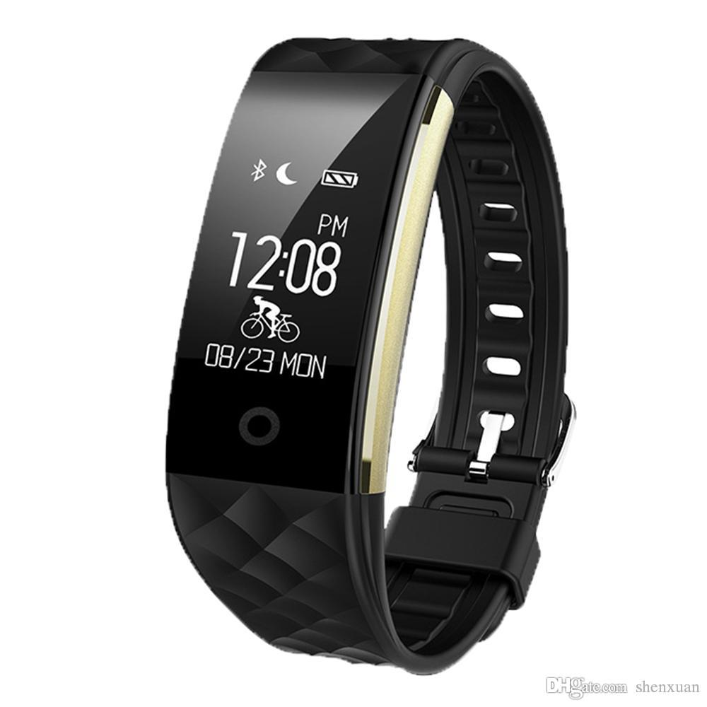 Men's Women Smart Bracelet Wrist Band GPS Multiple Language Sleep Sports Tracking Call Reminder Camera Remote Watch for IOS Android