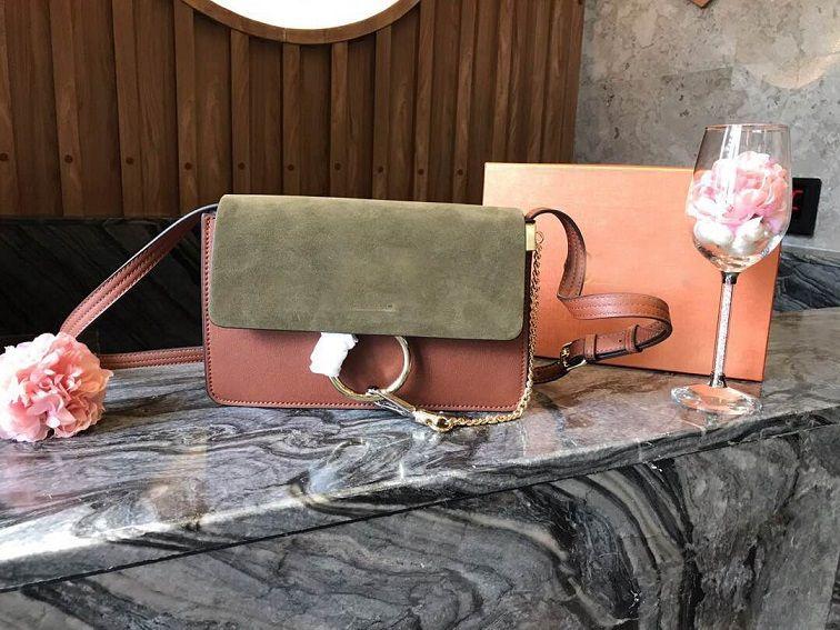 bolsos de hombro de la manera del envío libre de la mochila de gamuza suave bolsos de hombro de cuero mujer 24cm círculo de venta de fábrica precio de coste