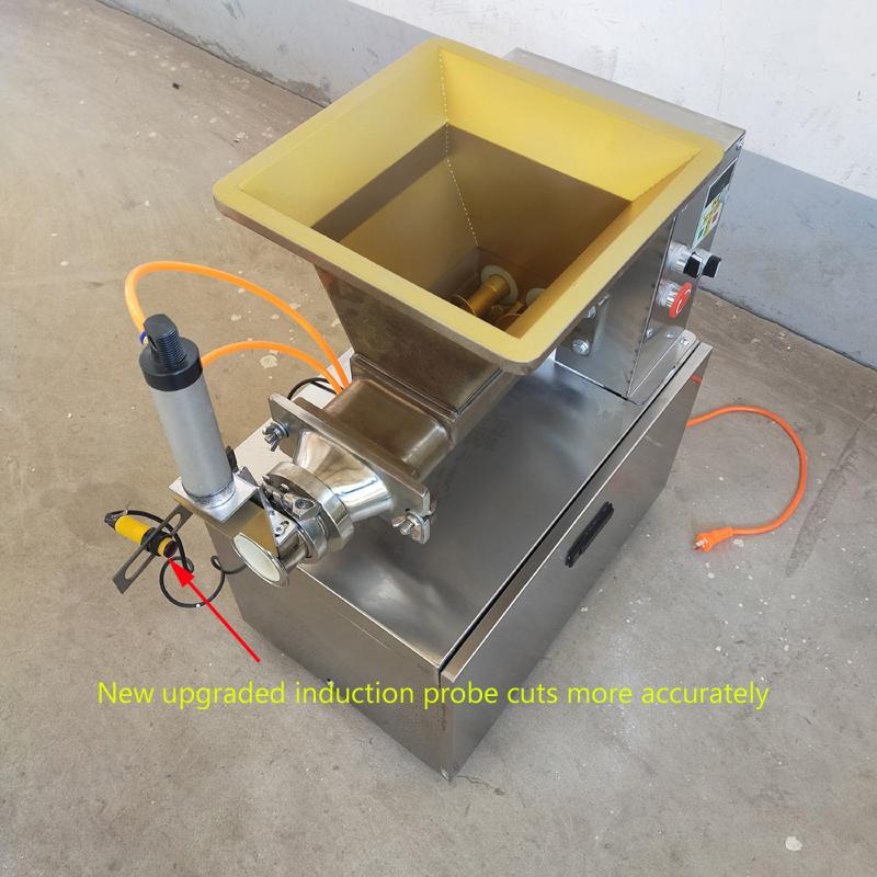 110V 220V Electric dough cutting machine for precise cutting of dough filling cheese induction probe pneumatic dough cutting machine