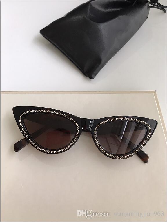 Neue Top-Qualität 40191 Herren Sonnenbrille Männer Sonne Frauen Sonnenbrille Mode-Stil Gläser schützt Augen Gafas de sol lunettes de soleil mit Box