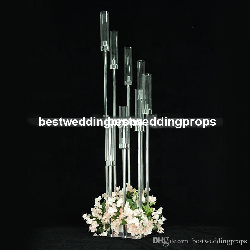 Nuovo stile Wedding Aisleway Crystal Pillar, Wedding Walkway Crystal Stand Pillars, wedding walkay pilastri best01257