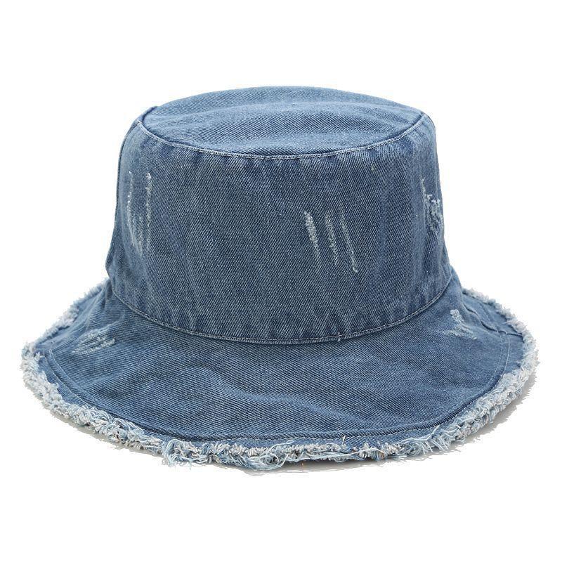 2020 del resorte pantalones vaqueros retro cubo de verano sombrero sombrero de pescador material de algodón feminino encabezamiento de caza casquillo protector solar al aire libre