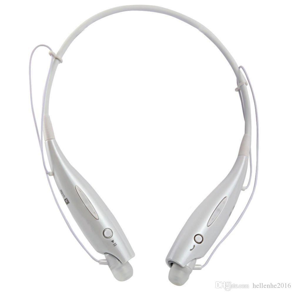سماعات رأس لاسلكية للتكلم الحر مع سماعة بلوتوث V4.0 رياضية مع ميكروفون لجميع الهواتف الذكية